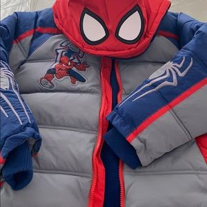 Disney Spider-Man Coat NWT⭐️⭐️⭐️⭐️